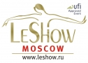 "20 International Leather and Fur exhibition ""LeShow""-Moscow logo"