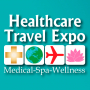 X Anniversary International Exhibition Healthcare Travel Expo logo
